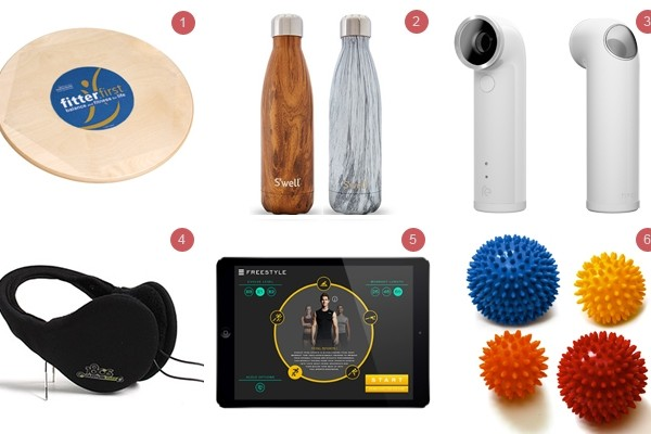 Above: 6 of our favourite gift ideas for the fitness fanatic in your life