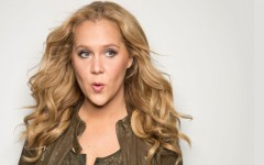 Above: Stand-up comedian Amy Schumer