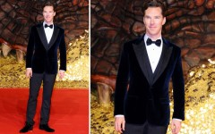 Benedict Cumberbatch at 'The Hobbit: The Desolation of Smaug' premiere in Berlin