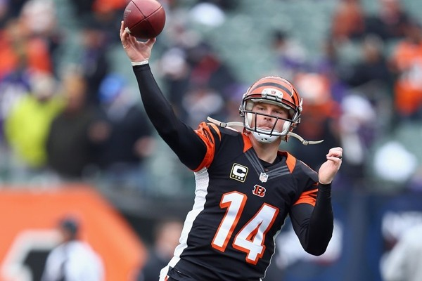 Above: Bengals Andy Dalton sets two franchise records against the Ravens