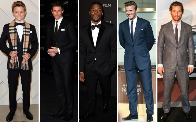 Above: Our weekly roundup of the best dressed gents on the red carpet