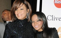 Above: Whitney Houston and daughter Bobbi Kristina Brown