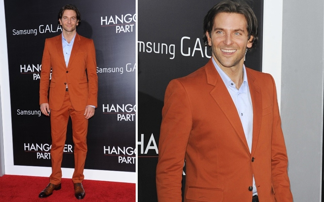 Bradley Cooper was all smiles at The Hangover Part III premiere in Los Angeles this week