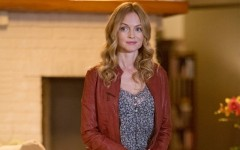Above: Heather Graham returns as Julia in Californication (Photo: Showtime)