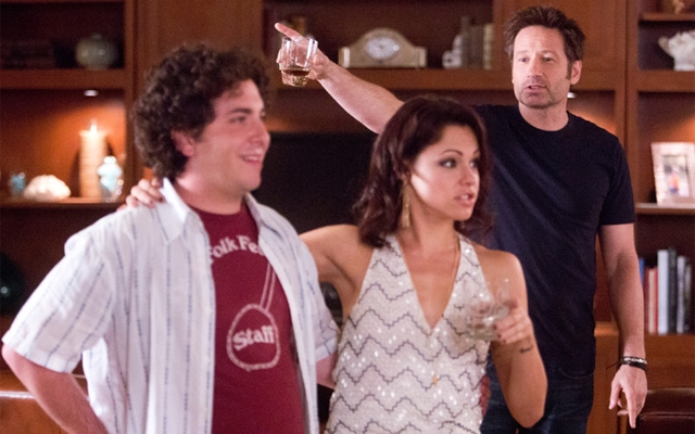 Above: Levon, Nikki and Hank in Getting the Poison Out (Photo: Showtime)