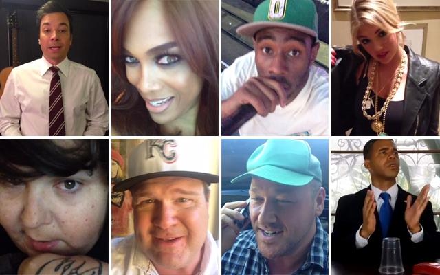8 celebs you should follow on Vine? (Screencap: Vine)