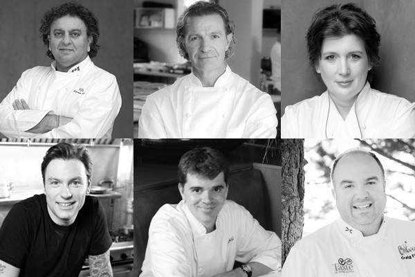 Above: Our favourite celebrity chefs from across Canada