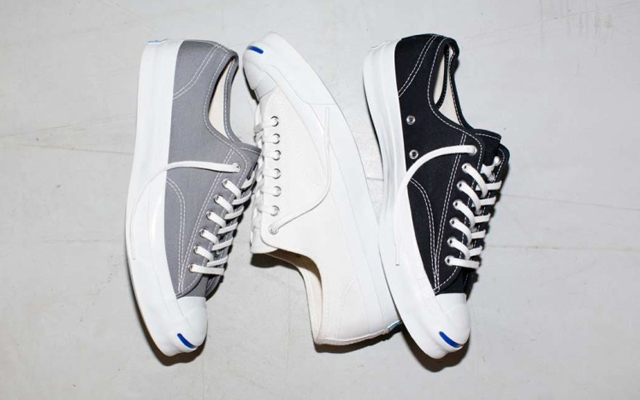 Above: The all-new Jack Purcell Signature Sneaker