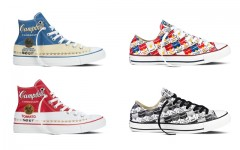 Above: Selections from the spring 2015 Converse All Star Andy Warhol collection