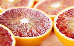 Above: Use blood oranges to create vinaigrettes for salad and with chicken