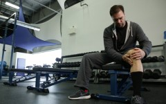 Above: Curtis 'Cujo' Joseph is helping spread awareness on the importance of injury prevention