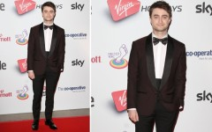 Daniel Radcliffe at the 2013 Attitude Awards  at London's Royal Courts of Justice