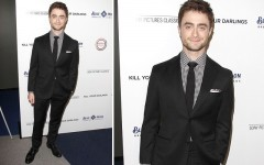 Daniel Radcliffe at the 'Kill Your Darlings' premiere in Beverly Hills