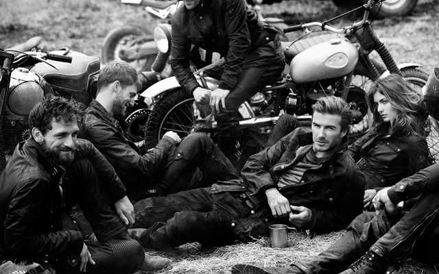 David Beckham for Belstaff (Photo: Peter Lindbergh/Belstaff)