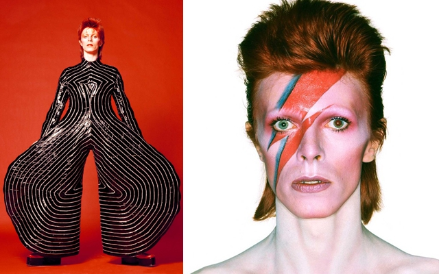 David Bowie crowned most stylish Briton