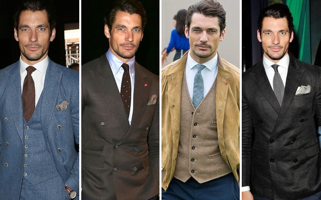 David Gandy Takes On London Collections: Men
