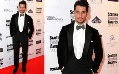 David Gandy at the 2013 Scottish Fashion Awards