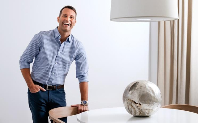 Above: Canadian design expert and television personality Yanic Simard