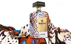 Above: The Disaronno wears Cavalli limited edition bottle