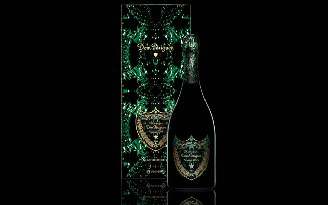 Above: The Vintage Champagne Dom Perignon teams up with world-renowned fashion designer Iris van Herpen