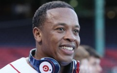 Above: Dr. Dre wears a pair of Beats headphones in 2010 (Photo: Reuters)