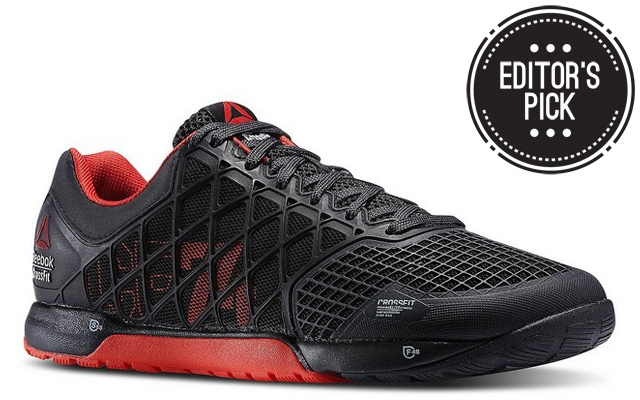 Above: The new Reebok Nano 4.0 in black and red