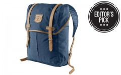 Above: Christopher's pick... Fjallraven's Rucksack No.21 Medium... in navy, of course
