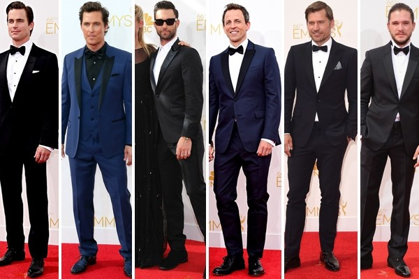 Above: 6 of our favourite gents on the red carpet at the 2014 Emmy Awards