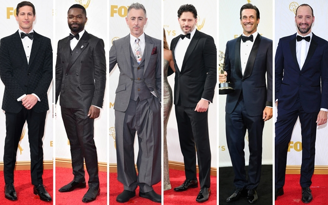Above: 6 of our favourite gents on the red carpet at the 2015 Emmy Awards