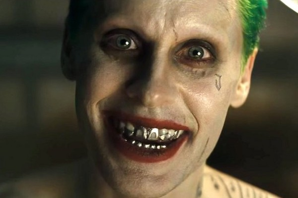 Above: The 'Suicide Squad' trailer was officially released earlier this week following a Comic-Con leak