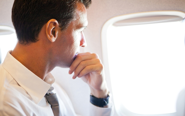 Learn how to fly more comfortably (Photo: michaeljung/Shutterstock)