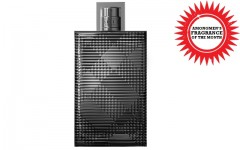 Above: Our fragrance of the month, Burberry Brit Rhythm