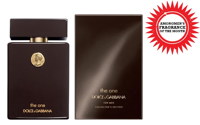 Above: Dolce & Gabbana's newest fragrance, The One For Men Collector's Edition EDT