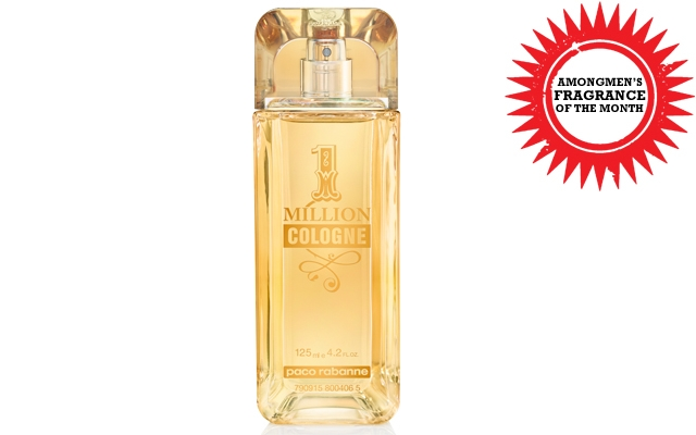 Above: Paco Rabanne's intoxicating 1 Million Cologne