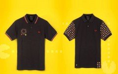 Fred Perry teams up with ten_do_ten on a collection of polo shirts featuring PAC-MAN