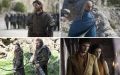 King's Landing prepares for a wedding; Danny finds Meereen; the Night's Watch braces (Photos: HBO)