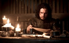 Above: 'Game of Thrones' ended season 5 with a devastating cliffhanger. But is Jon Snow really dead?