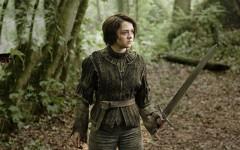 Above: Arya Stark