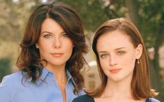 Above: A 'Gilmore Girls' reboot is in the works at Netflix