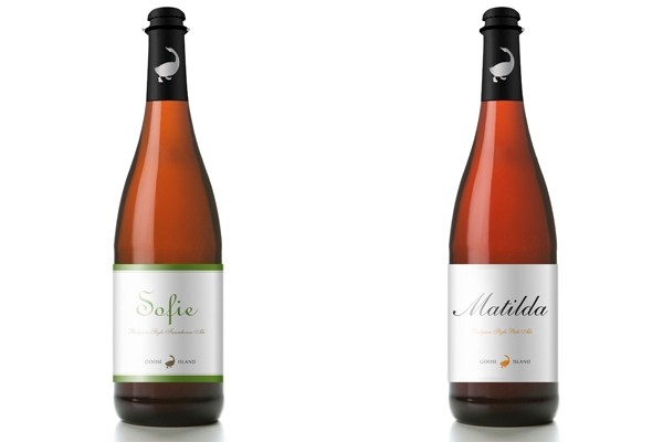 Goose Island ales (Sofie and Matilda) are now available at the LCBO (Photo credit: Goose Island)