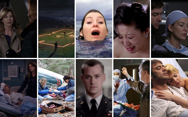 Above: 10 of Grey's Anatomy's most memorable moments