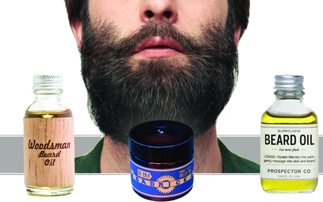 Above: 3 of our favourite beard oils