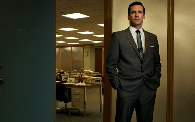 Above: This year why not dress up as Mad Men's high-powered, philandering ad exec Don Draper?