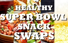 Score a touchdown at your Super Bowl party with these healthy snack ideas