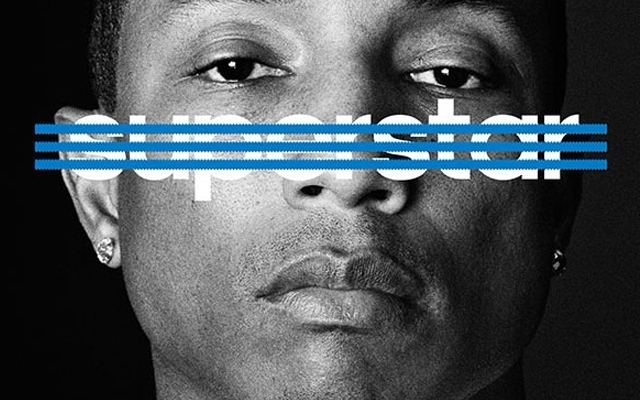 Pharrell Williams for adidas' #OriginalSuperstars campaign