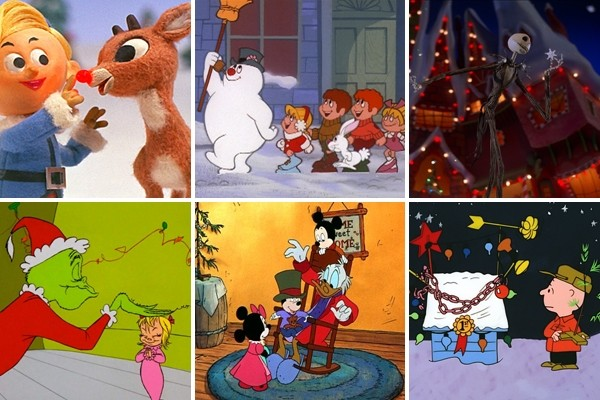 Above: 6 of our favourite holiday cartoons