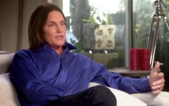 "Above: Bruce Jenner tells Diane Sawyer ""I've Always Had the Soul of a Woman"" in the two-hour 20/20 special"