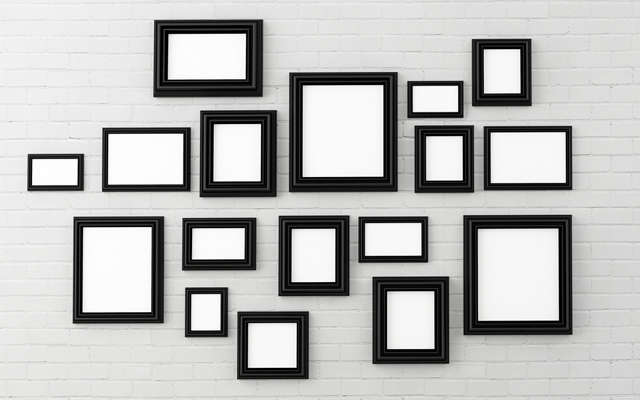 Above: Hang the perfect art gallery wall in your home (Photo: harper kt/Shutterstock)