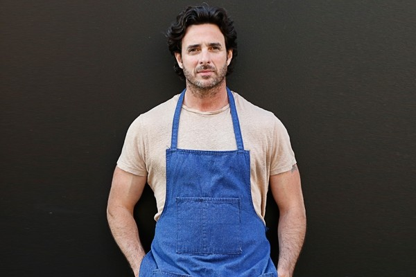 Above: Critically acclaimed Chef Mike Ward