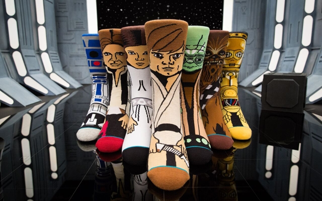 Above: The InStance X Star Wars Collection: The Uncommon Force collection